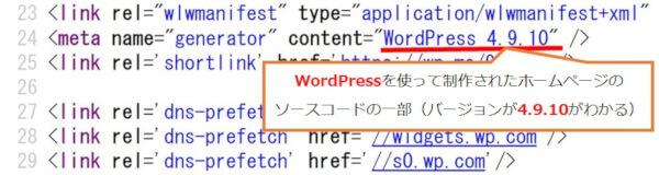 今すぐ2つの点検が必要ですWordPressバージョン確認